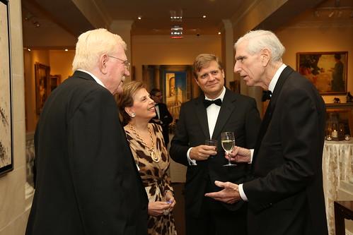 Robert Abernethy, Adrienne Arsht, Francis Bouchard, C. Boyden Gray