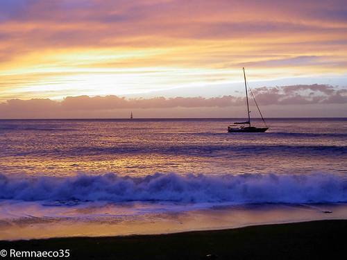mer bateau voilier