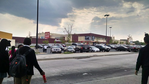 #FreddieGray #BaltimoreUprising #BlackLivesMatter Mondawmin Mall one week after it was rocked by violent protests