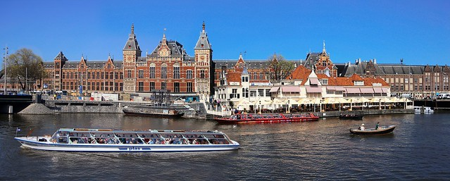 Amsterdam Centraal Station is a national heritage site
