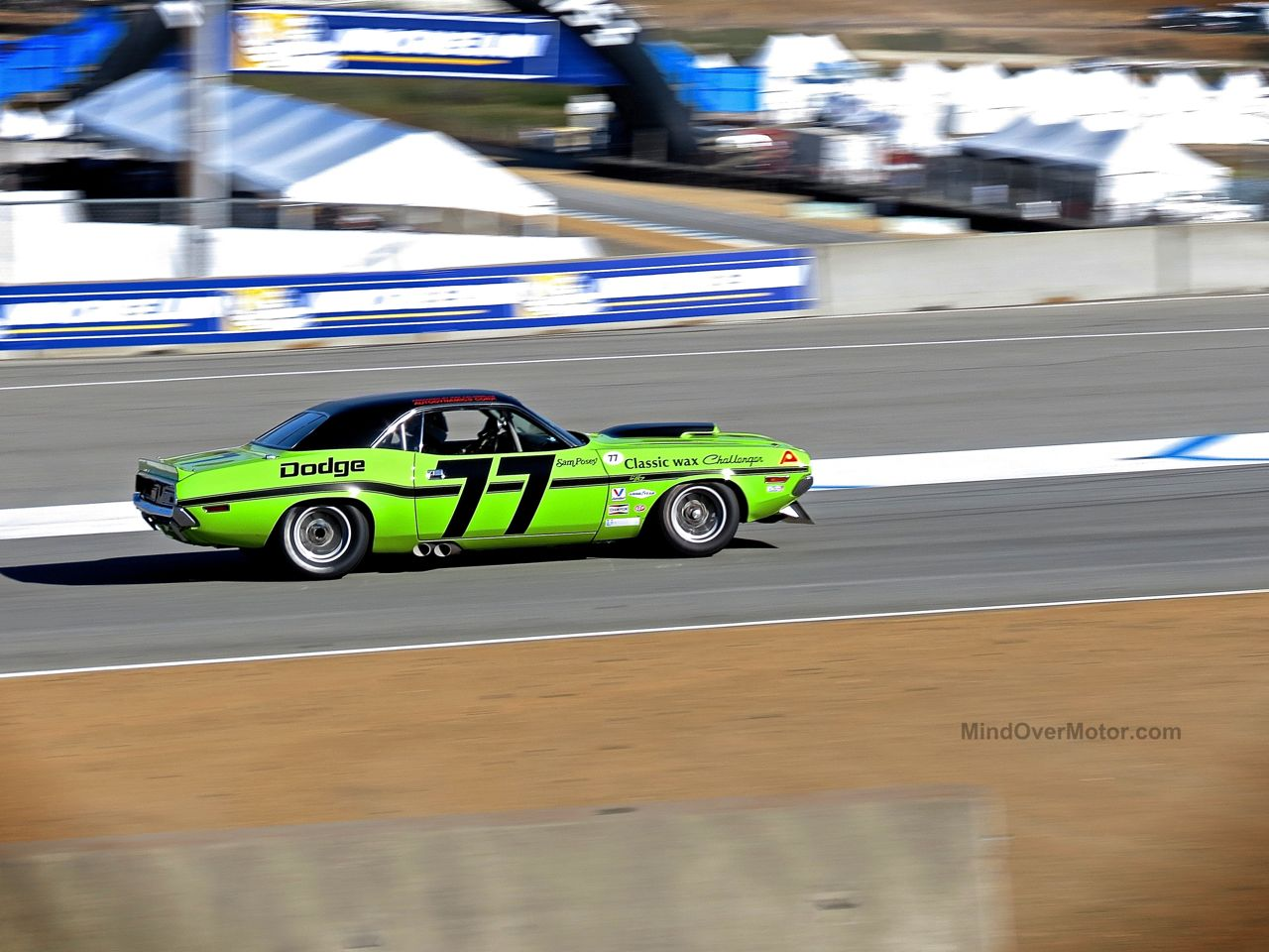 Dodge Challenger Trans Am Race Car Laguna Seca