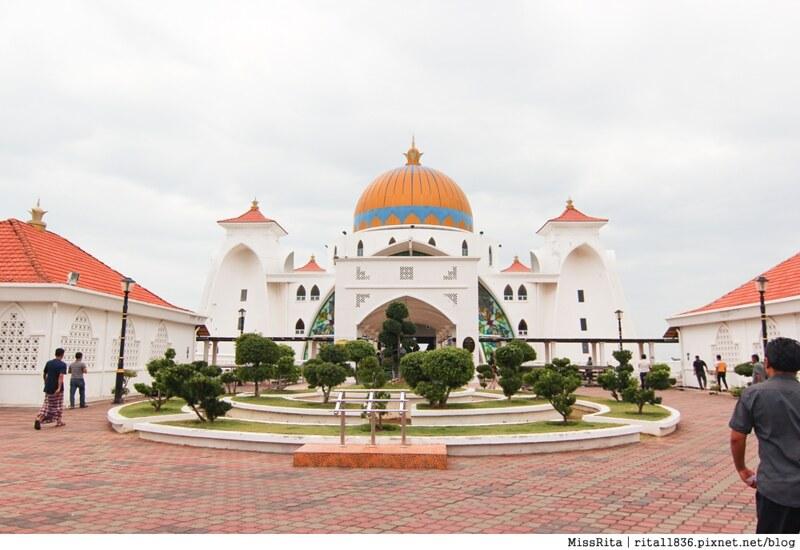 馬來西亞 麻六甲 馬六甲景點 Malacca Straits Mosque 清真寺 海上清真寺 Masjid Selat Melaka Pulau Melaka1