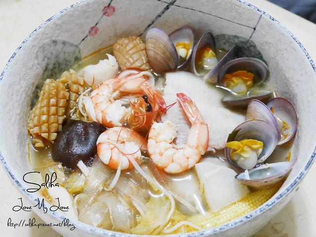 泰式海鮮酸辣冬粉食譜 (3)