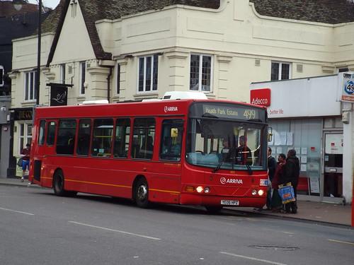 Arriva Kent Thameside 3973, YE06HPZ in Romford on route 499 to Heath Park Estate