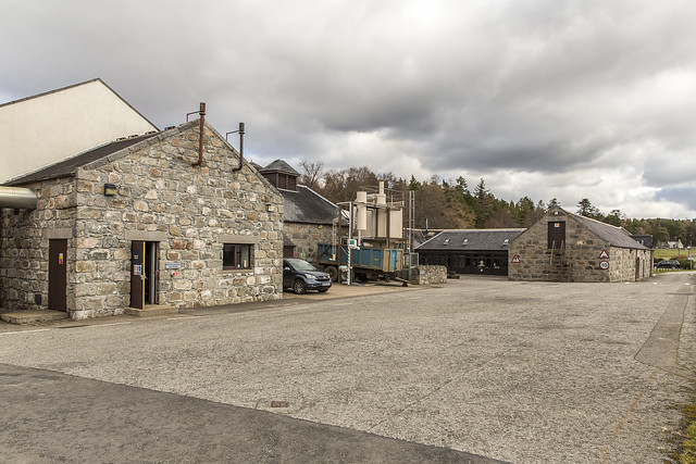 Royal Lochnagar Rear of Shop