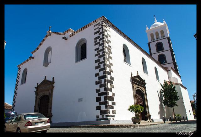 Garachico roque piscinas naturales caleton - Iglesia matriz de Santa Ana