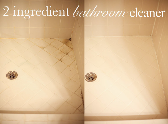 2 Ingredient Bathroom Tub And Shower Cleaner That Will Put Any Bottle Of  Bleach To Shame