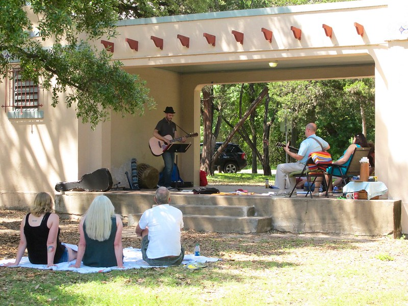 May 2015 Singalong at Little Stacy Park