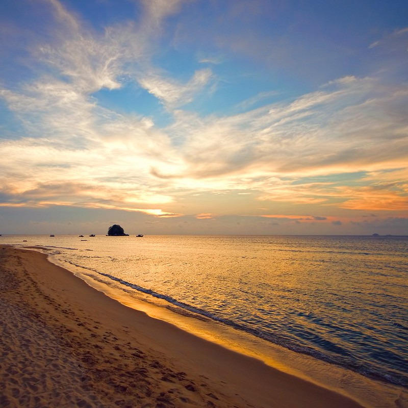 Sunset Tioman Island - South East Asia