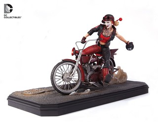 DC Collectibles【暴走族小丑女】Harley Quinn 雕像作品