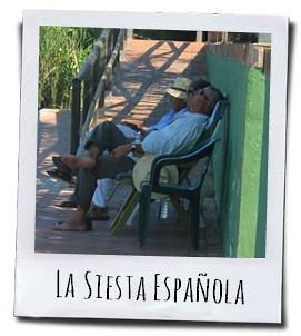 De siësta, een heerlijk middagdutje onder de Spaanse zon