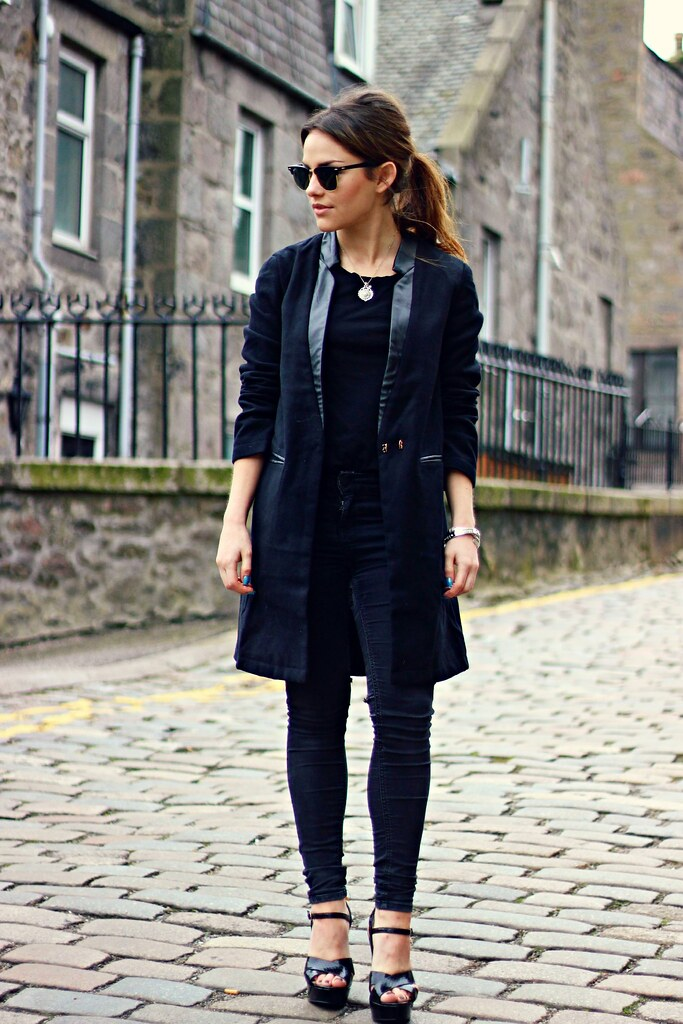 Fashion Pills All Black Outfit the littlemagpie