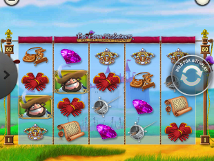 The Three Musketeers and the Queen's Diamond Mobile slot game online review