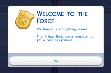 welcome to the force lol