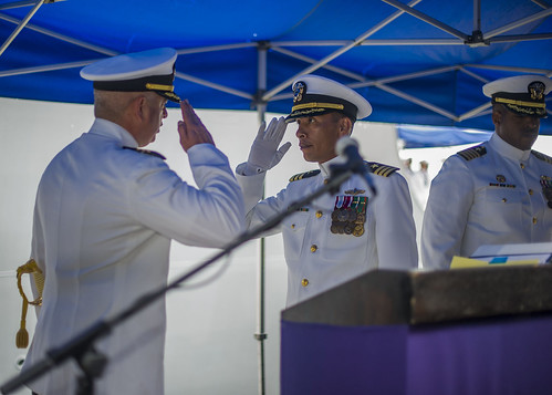 USS SPRUANCE Change of Command, May 15, 2015
