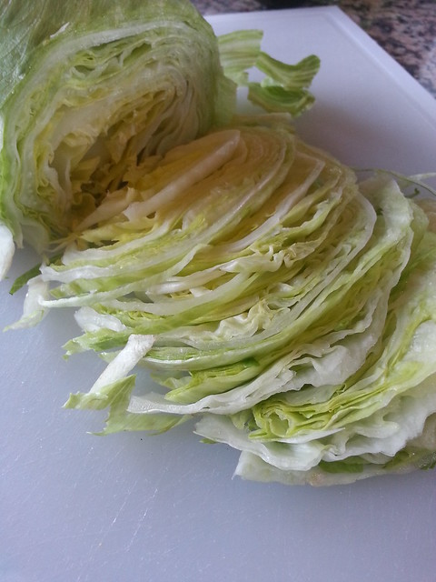 Cutting Cabbage