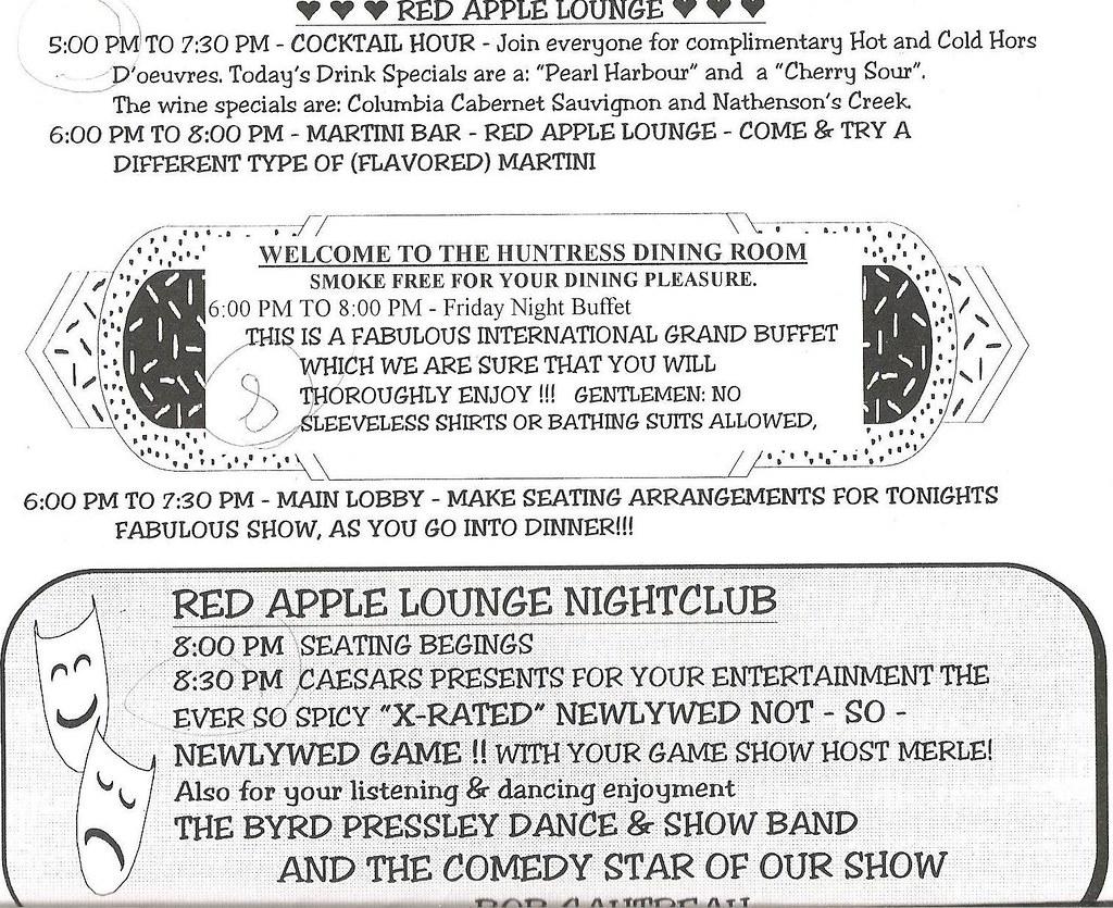 Caesar's Paradise Stream - 11/5-11/7/99 | Daily Newsletter