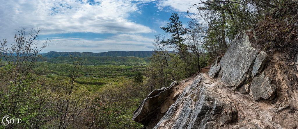 Panorama Appalachiantrail Dragonstooth Catawba Roanokeva Nikon20mm18  Nikond750 Appalachiantrailoverlooks
