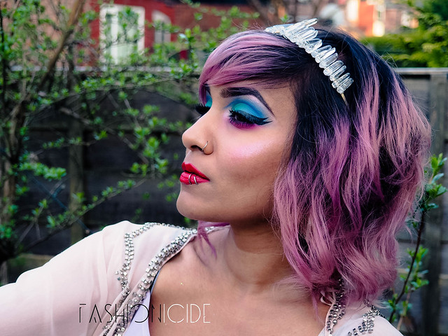 Urban Decay Alice Through The Looking Glass Makeup Look (3 of 6)