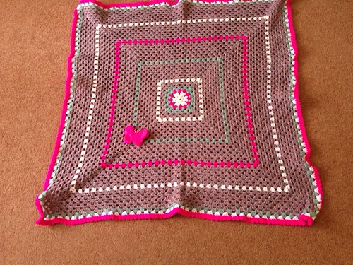 Tickled Pink made and donated by Una thank you.