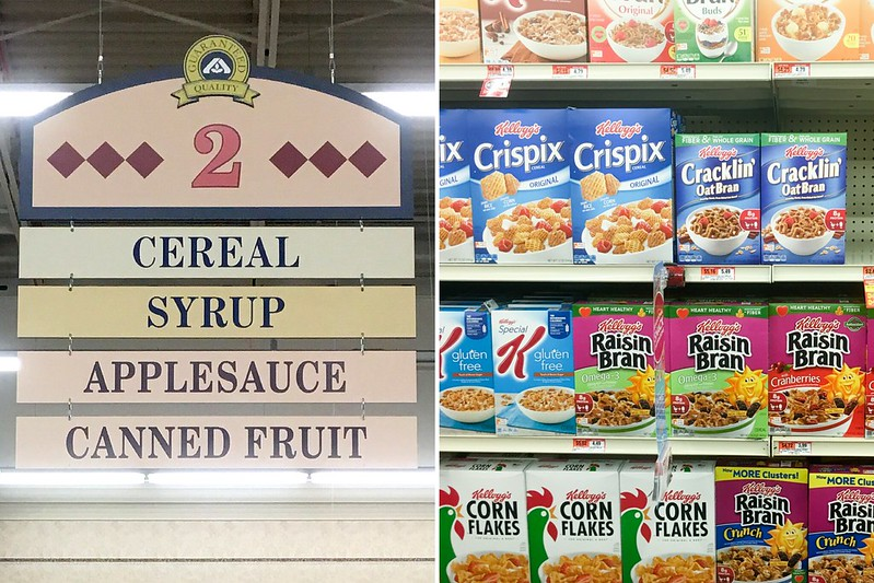 Cereal aisle at ACME Markets #ad #shop