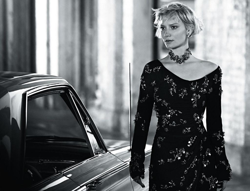 Миа Васиковска — Фотосессия для «Vogue» AU 2016 – 1