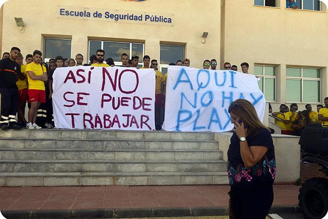 ¿Qué ocurre con el servicio de Protección Civil de Cartagena