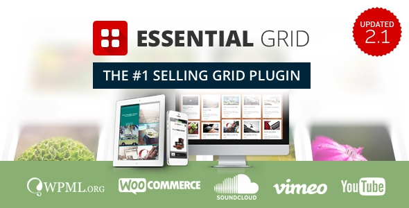 Essential Grid v2.1.6 – WordPress Plugin