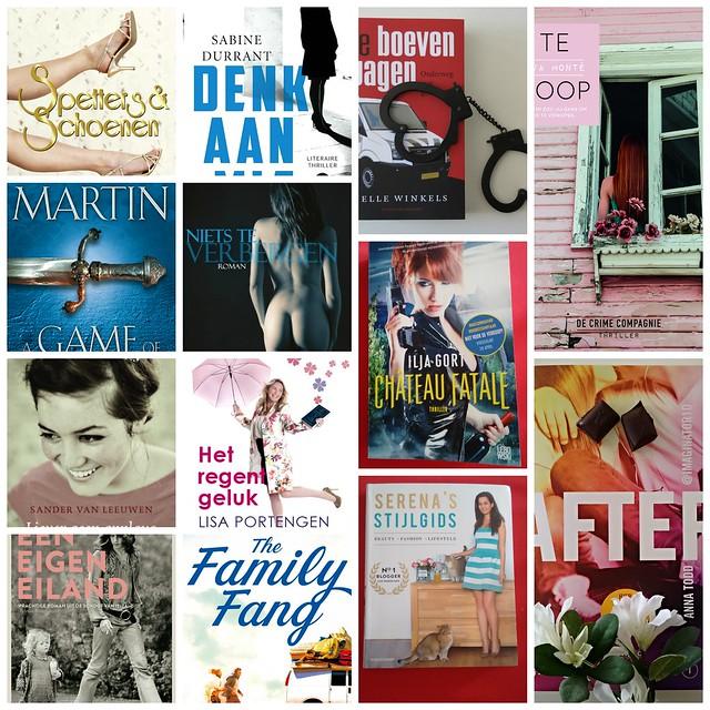 Gelezen boeken april 2015