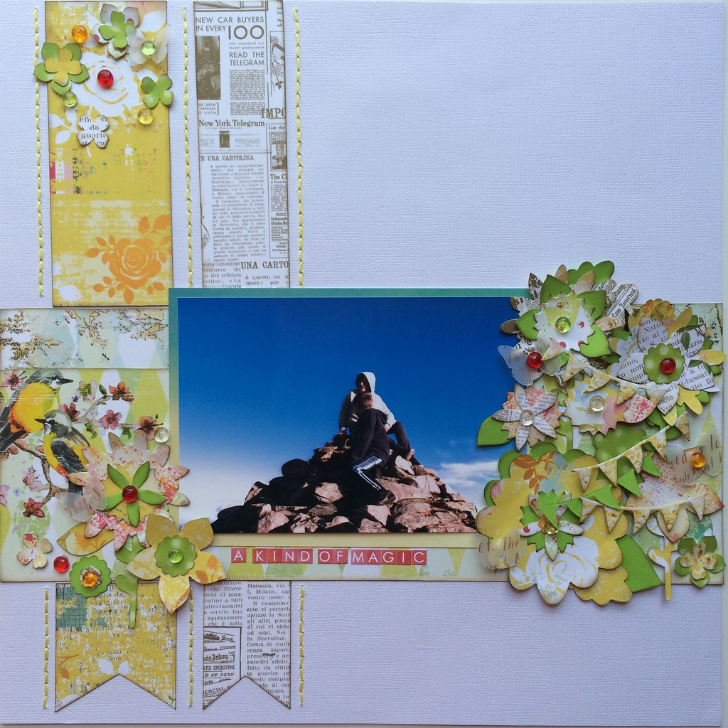 Scrapbook Layout 12x12 Websters Pages