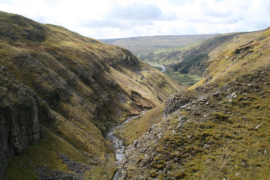 Swinner Gill and Swaledale