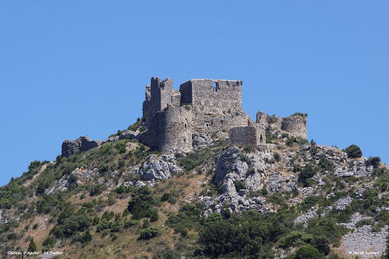 11 Tuchan - Château d'Aguilar XII XIII