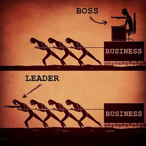 Management versus Leadership (Credits: David Sanabria)