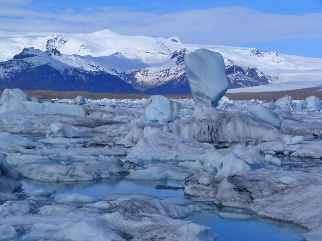 Laguna Jökulsárlón (Islandia)