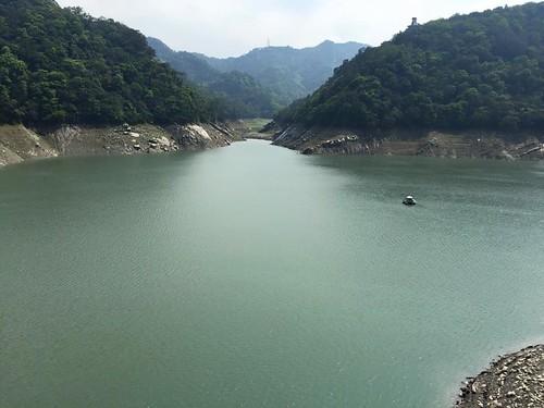 石門水庫有水了!(圖片來源:經濟部水利署)