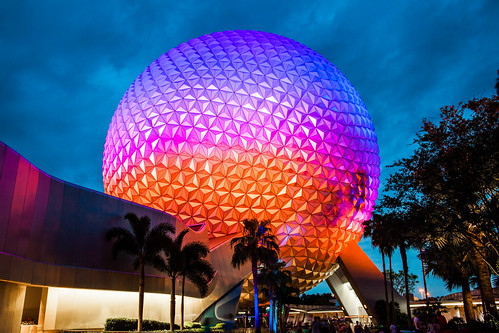 Epcot Spaceship Earth Walt Disney World