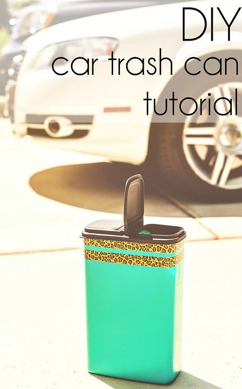 Diy Car Trash Can Me Time In The Know Mom
