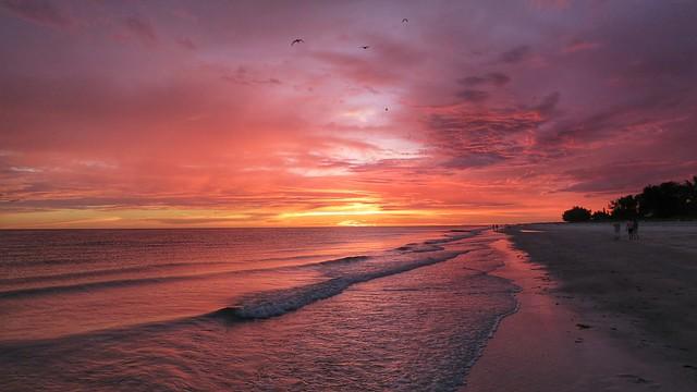 Today's sunset on Anna Maria Island