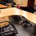 16x12 beech radial desk