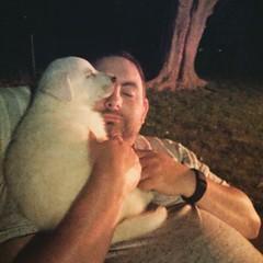 Bill & Timber. #GSD #germanshepherddog #husky #shepsky #cuddlemonster