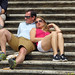 On the Spanish Steps 01