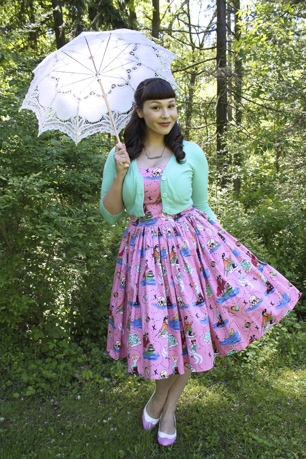 pinup girl clothing neverland dress