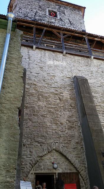 The old wall around Tallinn, Estonia