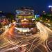 Busy Hanoi Intersection by Rob Kroenert