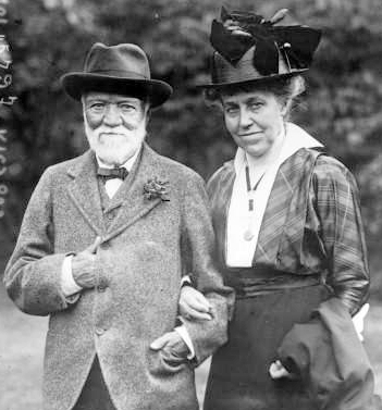 Andrew & Louise Carnegie in 1915
