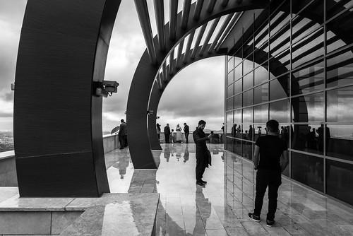 2016 24120mm bw d750 denizli nikon teleferik cablecar candid clouds rain reflection street arch