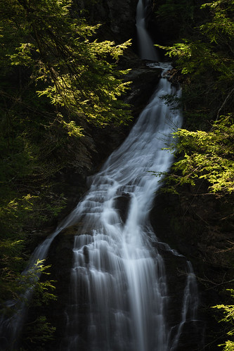longexposure trees sunlight motion nature water pine landscape flow us waterfall movement stream vermont unitedstates falls pines gorge stowe polarizer greenstone schist lamoille mossglenfalls mossglenbrook berdrock