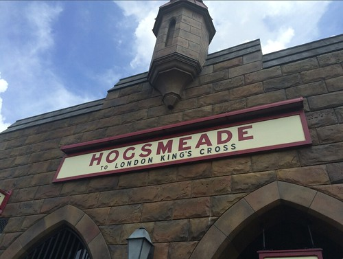 Hogsmeade train station