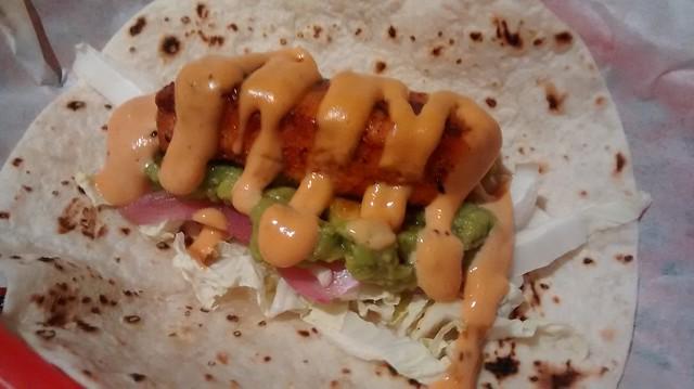 fish taco $7
