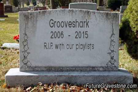 R.I.P. with our playlists